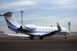 KAZKAZさんが、羽田空港で撮影したサザン・クロス・アヴィエーション G650ER (G-VI)の航空フォト(飛行機 写真・画像)