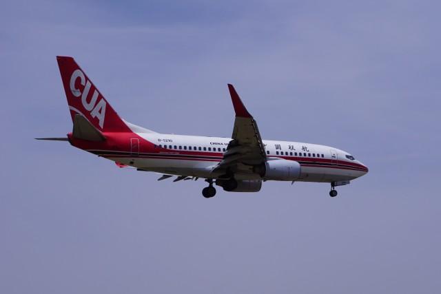 ベリオさんが、北京南苑空港で撮影した中国聯合航空 737-79Pの航空フォト(飛行機 写真・画像)