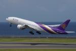 yabyanさんが、中部国際空港で撮影したタイ国際航空 777-2D7/ERの航空フォト(飛行機 写真・画像)