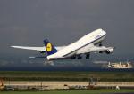 sommaさんが、羽田空港で撮影したルフトハンザドイツ航空 747-830の航空フォト(写真)