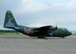 じーく。さんが、千歳基地で撮影した航空自衛隊 C-130H Herculesの航空フォト(飛行機 写真・画像)