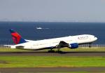 sommaさんが、羽田空港で撮影したデルタ航空 777-232/ERの航空フォト(写真)