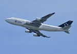 じーく。さんが、新千歳空港で撮影したタイ国際航空 747-4D7の航空フォト(飛行機 写真・画像)