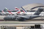 LAX Spotterさんが、ロサンゼルス国際空港で撮影したアメリカ空軍 C-17A Globemaster IIIの航空フォト(写真)