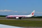 T.Sazenさんが、新千歳空港で撮影した中国国際航空 737-86Nの航空フォト(写真)