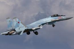 Talon.Kさんが、ジュコーフスキー空港で撮影したロシア空軍 Su-35Sの航空フォト(飛行機 写真・画像)