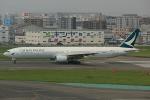 板付蒲鉾さんが、福岡空港で撮影したキャセイパシフィック航空 777-367の航空フォト(写真)