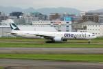 ansett767ksさんが、福岡空港で撮影したキャセイパシフィック航空 777-367/ERの航空フォト(写真)