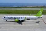 T.Sazenさんが、神戸空港で撮影したソラシド エア 737-81Dの航空フォト(飛行機 写真・画像)
