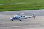 T.Sazenさんが、神戸空港で撮影した日本法人所有 A109E Powerの航空フォト(飛行機 写真・画像)
