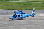 T.Sazenさんが、神戸空港で撮影した兵庫県警察 EC155B1の航空フォト(飛行機 写真・画像)
