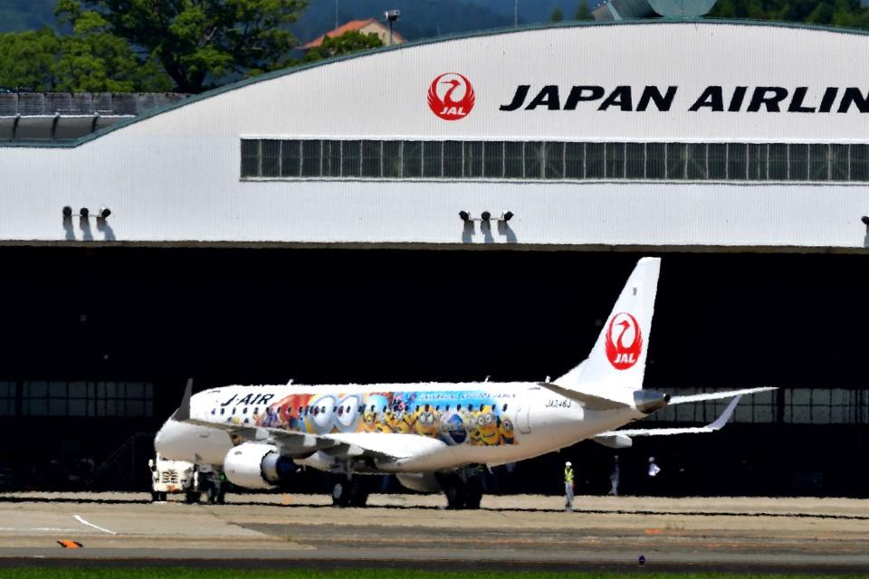 T.Sazenさんのジェイエア Embraer 190 (JA248J) 航空フォト