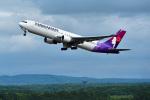 パンダさんが、新千歳空港で撮影したハワイアン航空 767-3CB/ERの航空フォト(飛行機 写真・画像)