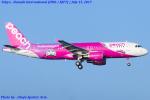 Chofu Spotter Ariaさんが、羽田空港で撮影したピーチ A320-214の航空フォト(飛行機 写真・画像)
