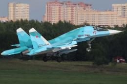 Talon.Kさんが、ジュコーフスキー空港で撮影したロシア空軍 Su-34の航空フォト(飛行機 写真・画像)