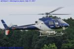 Chofu Spotter Ariaさんが、茨城県桜川市 場外離着陸場で撮影したエス・ジー・シー佐賀航空 AS350B Ecureuilの航空フォト(飛行機 写真・画像)