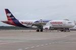 tyusonさんが、シェムリアップ国際空港で撮影したバッサカ・エア A320-214の航空フォト(写真)