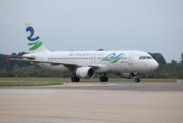 tyusonさんが、シェムリアップ国際空港で撮影したスカイ・アンコール・エアラインズ A320-212の航空フォト(飛行機 写真・画像)