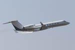kososhihashimotoさんが、成田国際空港で撮影したディーア・アンド・カンパニー G-V Gulfstream Vの航空フォト(写真)
