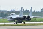 パンダさんが、千歳基地で撮影した航空自衛隊 F-15DJ Eagleの航空フォト(写真)