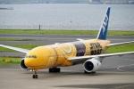 とおまわりさんが、羽田空港で撮影した全日空 777-281/ERの航空フォト(写真)