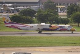 tyusonさんが、ドンムアン空港で撮影したノックエア DHC-8-402Q Dash 8の航空フォト(飛行機 写真・画像)