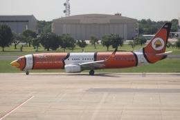 tyusonさんが、ドンムアン空港で撮影したノックエア 737-83Nの航空フォト(飛行機 写真・画像)