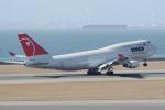 yabyanさんが、中部国際空港で撮影したノースウエスト航空 747-451の航空フォト(写真)