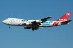 Tomo-Papaさんが、成田国際空港で撮影したノースウエスト航空 747-212F/SCDの航空フォト(写真)