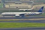 あしゅーさんが、羽田空港で撮影したガルーダ・インドネシア航空 777-3U3/ERの航空フォト(写真)