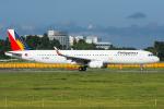 Tomo-Papaさんが、成田国際空港で撮影したフィリピン航空 A321-231の航空フォト(写真)