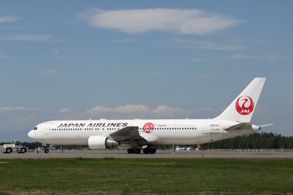 ATOMさんの日本航空 Boeing 767-300 (JA614J) 航空フォト