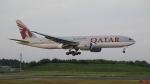 raichanさんが、成田国際空港で撮影したカタール航空 777-2DZ/LRの航空フォト(写真)