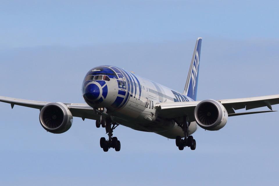 take_2014さんの全日空 Boeing 787-9 (JA873A) 航空フォト