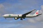 じゃりんこさんが、成田国際空港で撮影した日本航空 777-346/ERの航空フォト(写真)