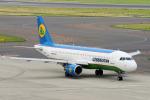 yabyanさんが、中部国際空港で撮影したウズベキスタン航空 A320-214の航空フォト(飛行機 写真・画像)