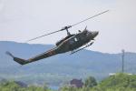とろーるさんが、たきかわスカイパークで撮影した陸上自衛隊 UH-1Jの航空フォト(写真)