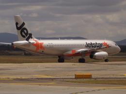 ken1☆MYJさんが、メルボルン空港で撮影したジェットスター A320-232の航空フォト(飛行機 写真・画像)