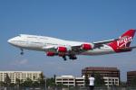 LAX Spotterさんが、ロングビーチ空港で撮影したヴァージン・ギャラクティック 747-41Rの航空フォト(写真)