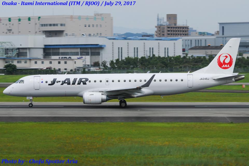 Chofu Spotter Ariaさんのジェイ・エア Embraer ERJ-190 (JA246J) 航空フォト