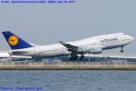 Chofu Spotter Ariaさんが、関西国際空港で撮影したルフトハンザドイツ航空 747-430の航空フォト(飛行機 写真・画像)