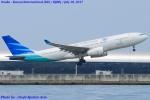 Chofu Spotter Ariaさんが、関西国際空港で撮影したガルーダ・インドネシア航空 A330-243の航空フォト(写真)