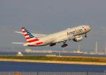 sommaさんが、羽田空港で撮影したアメリカン航空 777-223/ERの航空フォト(写真)