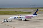 ハピネスさんが、神戸空港で撮影したスカイマーク 737-86Nの航空フォト(飛行機 写真・画像)