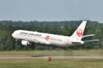 Cimarronさんが、帯広空港で撮影した日本航空 767-346/ERの航空フォト(写真)