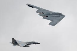 チャッピー・シミズさんが、フェアフォード空軍基地で撮影したアメリカ空軍 B-2A-30 Spiritの航空フォト(飛行機 写真・画像)
