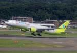 ansett767ksさんが、福岡空港で撮影したジンエアー 777-2B5/ERの航空フォト(写真)