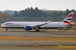 Double_Hさんが、成田国際空港で撮影したブリティッシュ・エアウェイズ 787-9の航空フォト(写真)