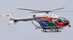 ロストロさんが、名古屋飛行場で撮影した茨城県防災航空隊 BK117C-2の航空フォト(写真)