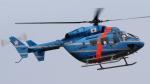 (ヘリの絵文字)じゃがいもさんが、名古屋飛行場で撮影した岩手県警察 BK117C-1の航空フォト(写真)